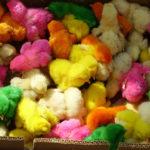 barvená kuřata