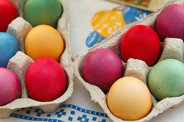barvená vejce