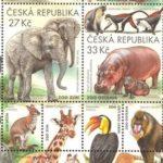 Zoo na poštovních známkách. Pošlete pohled s vaším oblíbeným zvířetem