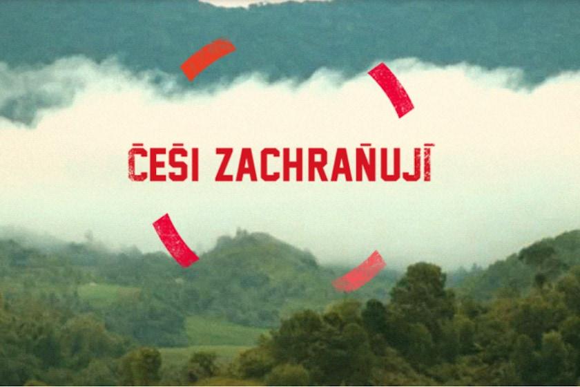Češi zachraňují